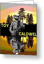 Toy Caldwell At Amber Lake 2 Greeting Card