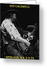 Toy Caldwell In Spokane 4 Greeting Card