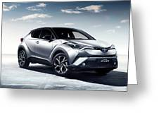 Toyota C-hr Greeting Card