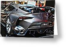 Toyota Ft-1 Concept Number 1 Greeting Card