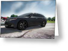 Toyota Venza_2011 Greeting Card