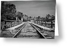 Tracks 2 Greeting Card