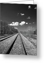 Tracks To Nowhere 1520 Greeting Card
