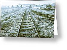 Tracks To Travel Tasmania Greeting Card