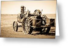 Tractor Greeting Card