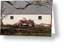 Tractor Barn Branch Greeting Card