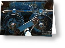 Tractor Engine IIi Greeting Card by Stephen Mitchell