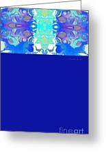 Tradition Blue Greeting Card