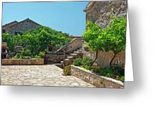 Traditional Old Hamlet Greeting Card