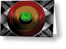 Traffic Lights Of The Future Greeting Card