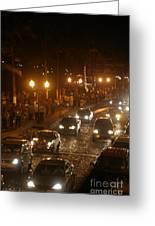 Traffic Malecon Pv Greeting Card