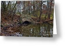Trail Bridge Greeting Card