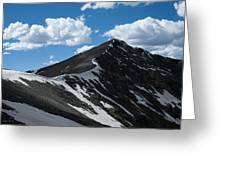 Trail From Grays To Torreys Greeting Card
