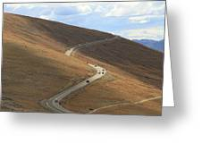 Trail Ridge Road Rocky Mountain National Park Greeting Card