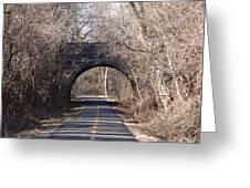 Trail Through History Greeting Card