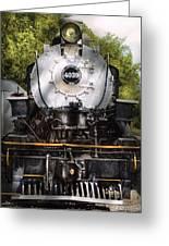 Train - Engine - 4039 American Locomotive Company  Greeting Card