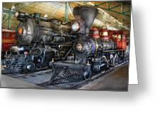 Train - Engine - Steam Locomotives Greeting Card