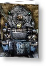 Train - Engine -1218 - Norfolk Western Class A - 1218 - Front View Greeting Card