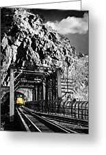 Train At Harpers Ferry Greeting Card by Williams-Cairns Photography LLC
