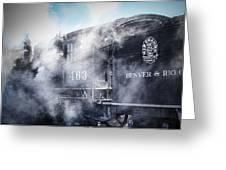 Train Engine 463 Greeting Card