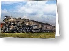 Train - Engine - Nickel Plate Road Greeting Card by Mike Savad
