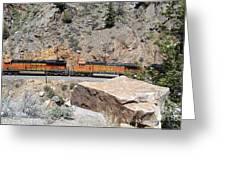 Train Engines Greeting Card