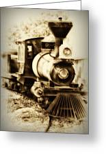 Train Keeps A Rolling Greeting Card