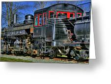 Train No. 3 Greeting Card