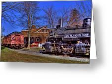 Train No. 6 Greeting Card