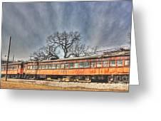 Train Series 3 Greeting Card