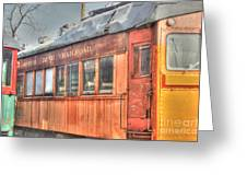 Train Series 5 Greeting Card
