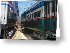Train Series 6 Greeting Card