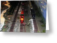 Train Set Greeting Card