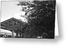 Train Station In Deerfield Beach Greeting Card