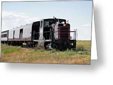 Train Tour Greeting Card by David Buhler