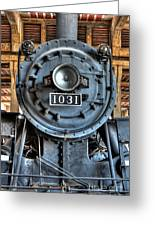 Trains - Steam Locomotive 1031 Greeting Card