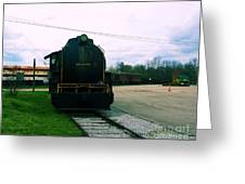 Trains 3 7 Greeting Card