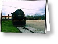 Trains 3 7a Greeting Card