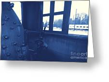 Trains 5 3 Greeting Card