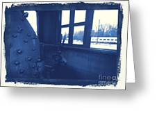 Trains 5 3a Greeting Card