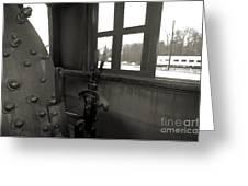 Trains 5 4 Greeting Card