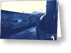 Trains 7 3 Greeting Card