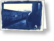Trains 7 3a Greeting Card