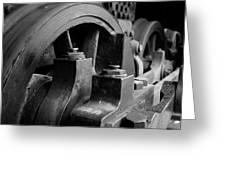Trainwheels Greeting Card