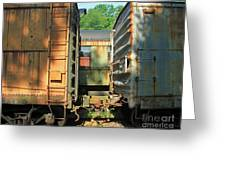 Trainyard 5 Greeting Card