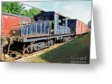 Trainyard 7 Greeting Card