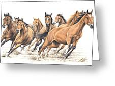 Trakehner Greeting Card