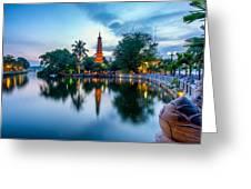 Tran Quoc Pagoda Greeting Card