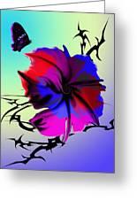 Trance Flower Greeting Card