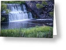 Tranquil Falls Greeting Card